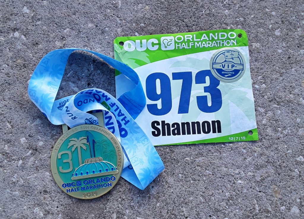 The Girl's Got Sole - OUC Orlando Half Marathon