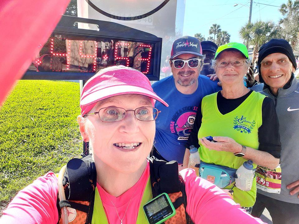 The Girl's Got Sole - 2020 DONNA Half Marathon