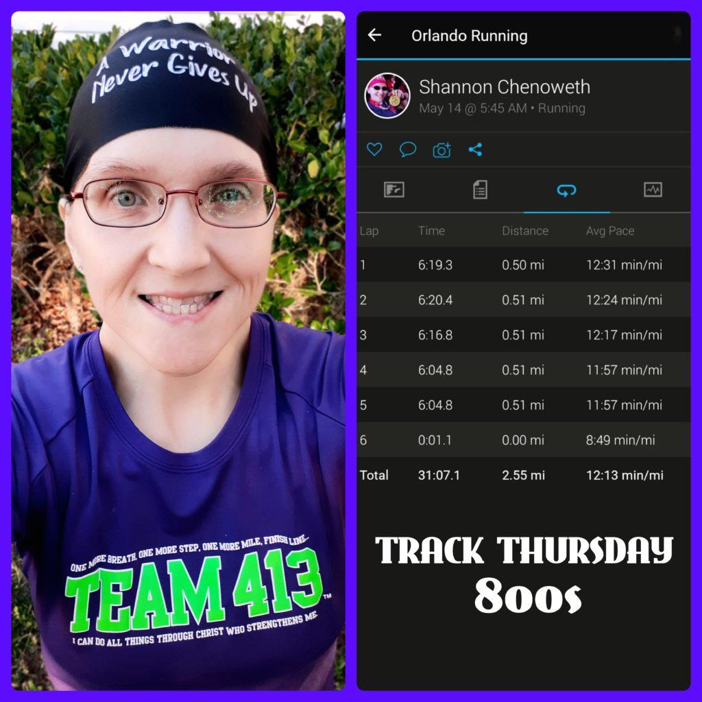 The Girl's Got Sole - Workout Recap, track run