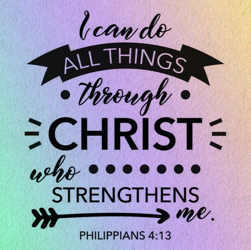 The Girl's Got Sole - I can do all things through Christ