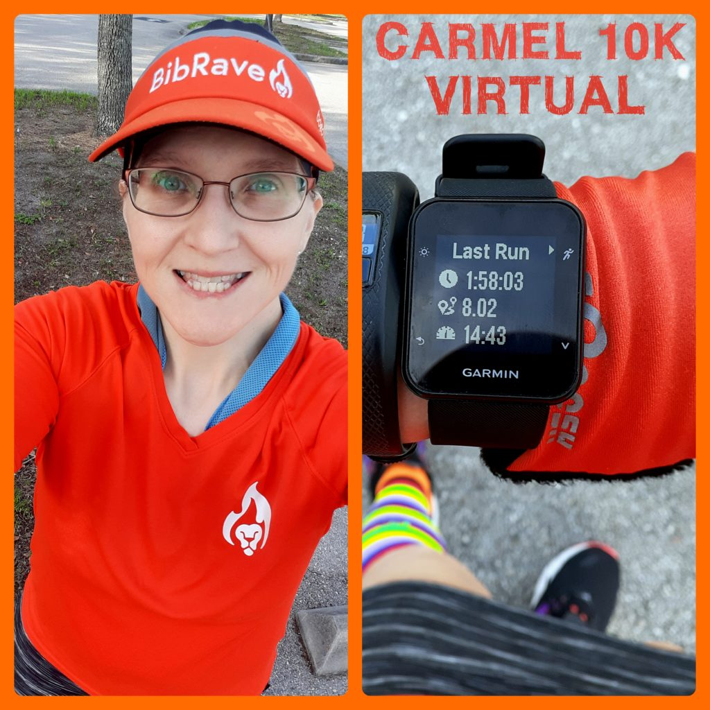 The Girl's Got Sole - Carmel Marathon 10k virtual