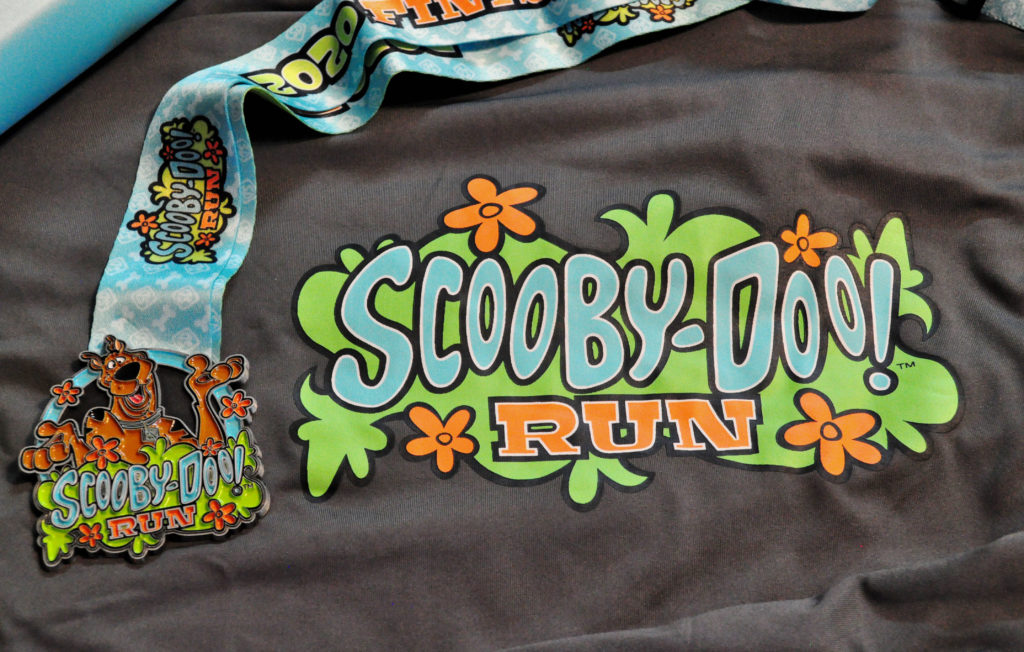 The Grl's Got Sole - Scooby Doo Virtual Run