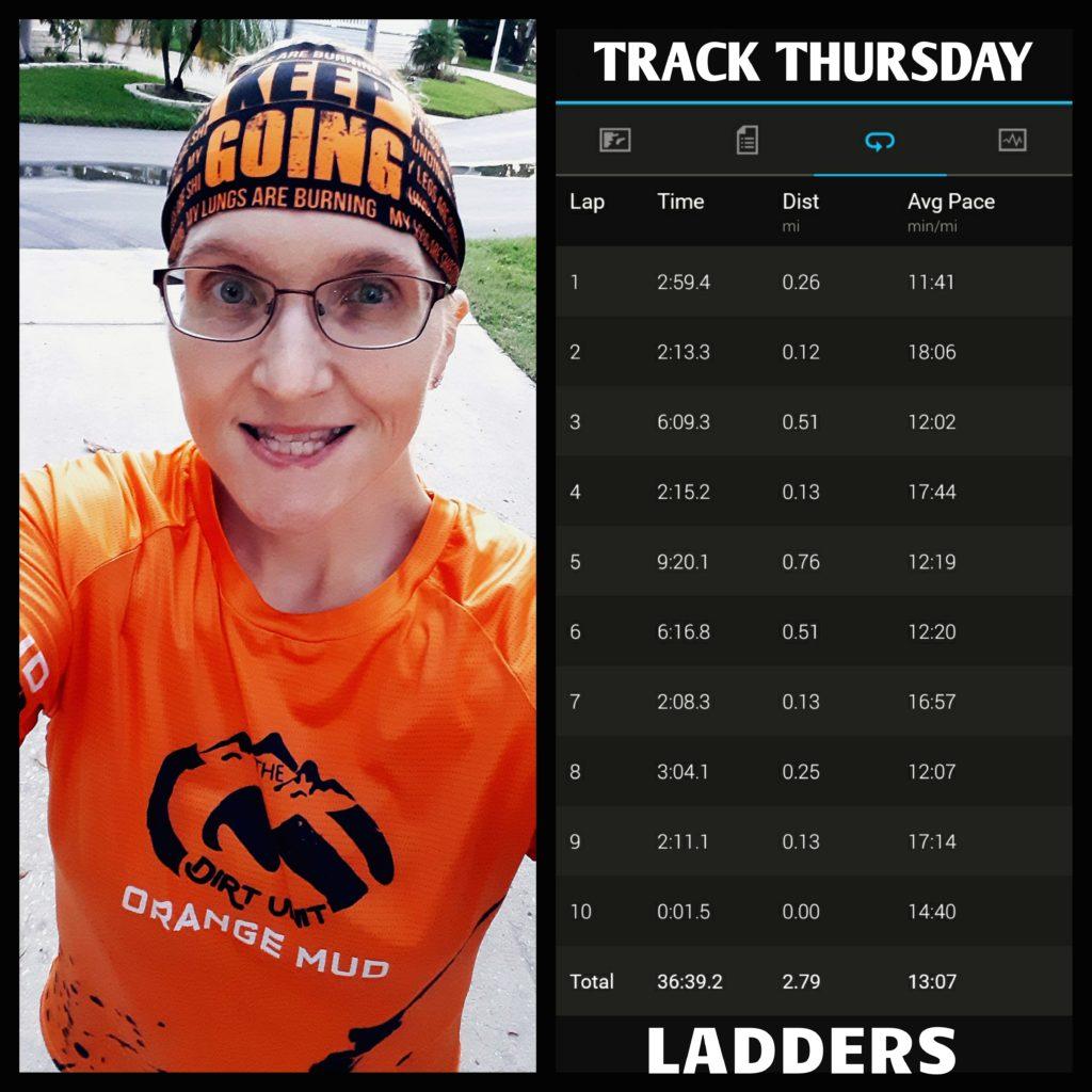 The Girl's Got Sole - Weekly Rundown, track run