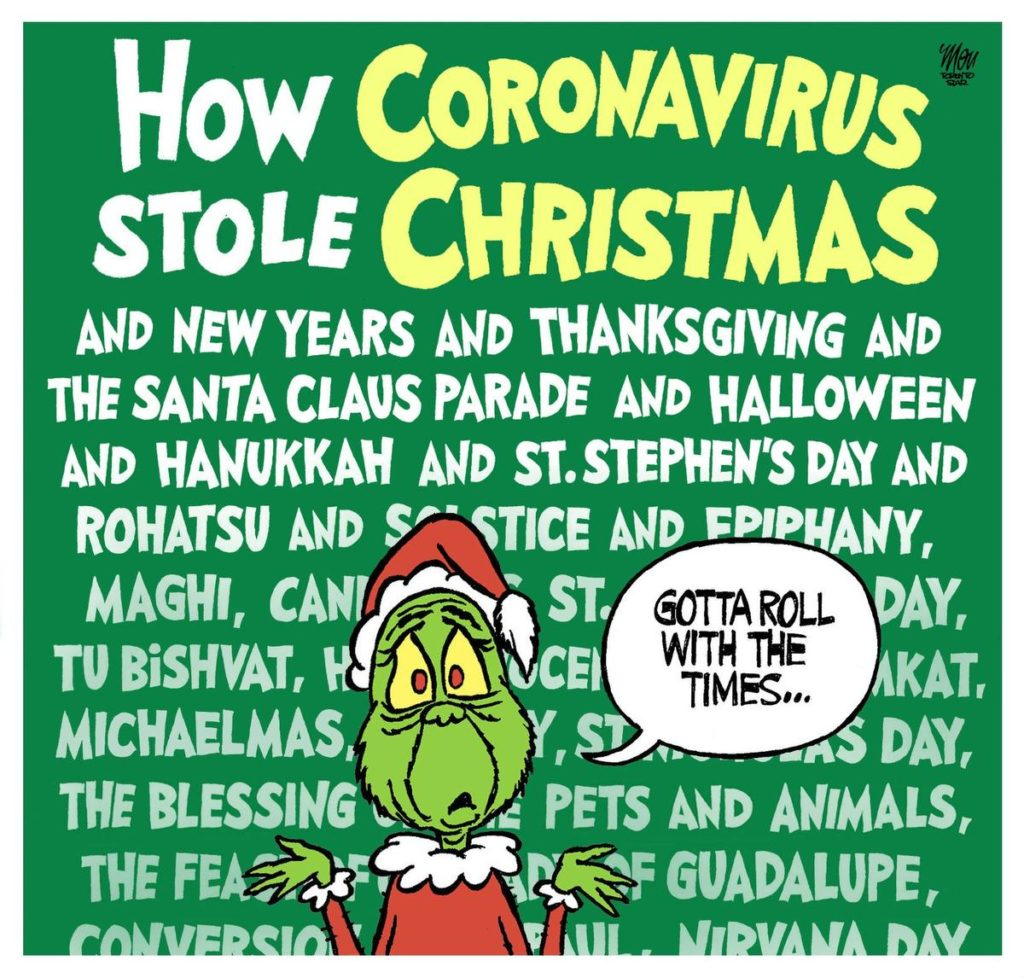The Girl's Got Sole - Covid Grinch