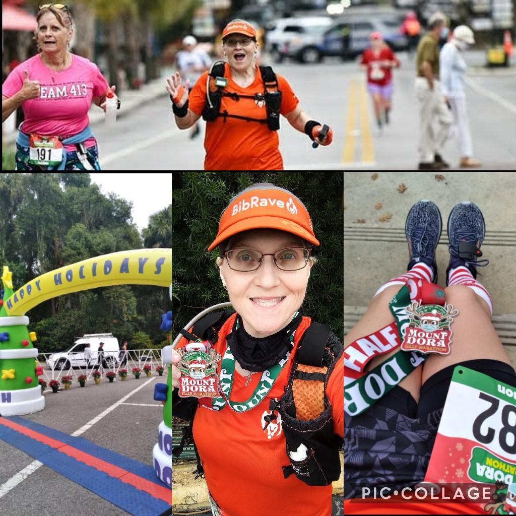 The Girl's Got Sole - Mount Dora Half Marathon