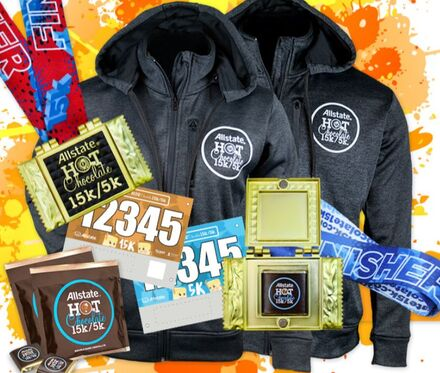 The Girl's Got Sole - Hot Chocolate 2021 race swag