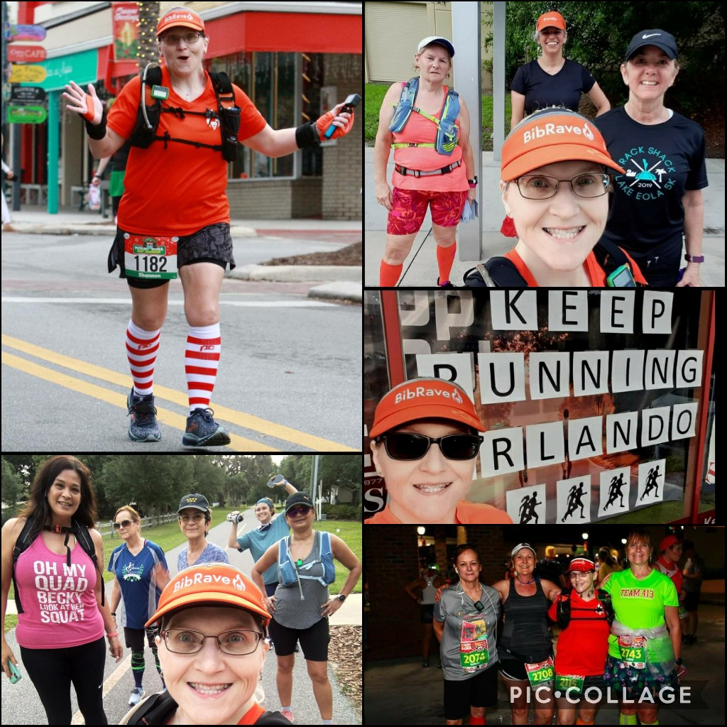 The Girl's Got Sole - Global Running Day collage
